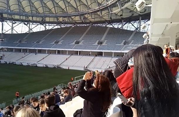5 тысяч человек завели для пробы на стадион «Волгоград Арена»