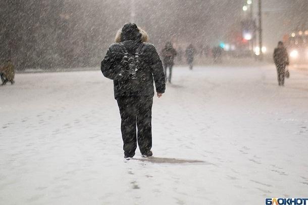 Мороз и гололед: в Волгограде ожидают ухудшение погоды