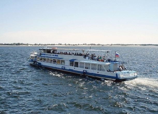 На новый пляж Сарептский волгоградцы смогут добраться на речном трамвайчике