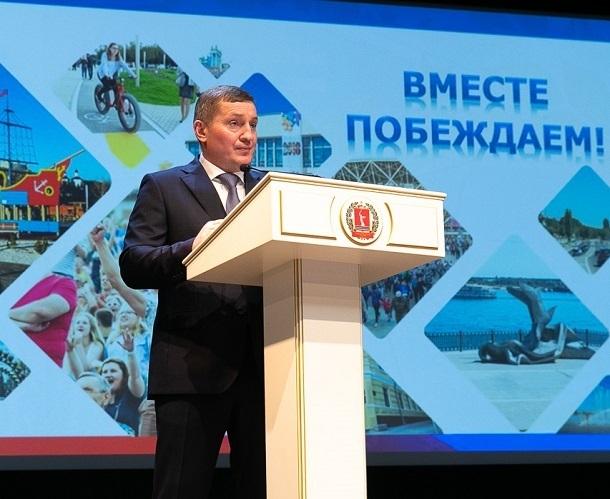 Губернатор Андрей Бочаров уверен, что его поддерживают жители Волгоградской области
