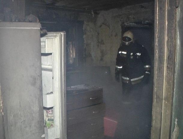 Пенсионер едва не сгорел на Красном Октябре в Волгограде