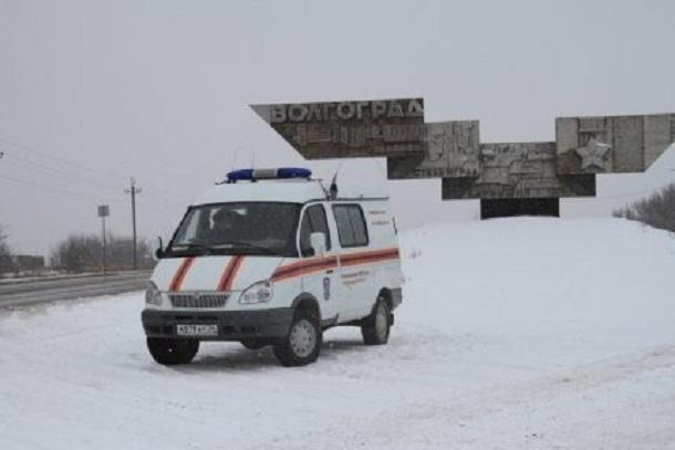 Две трассы закрыты в Волгоградской области из-за погодных условий