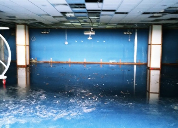 Правда раскрылась: помещения у выхода на поле «Волгоград Арены» сильно пострадали