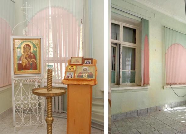В центральном роддоме №2 Волгограда уничтожили часовню Божьей Матери