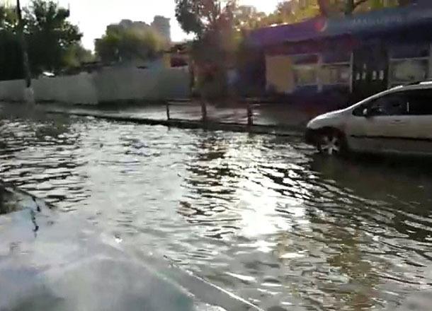 Волгоградский вокзал ушел под воду