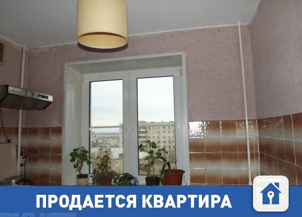 Продается недорогая ухоженная квартира с видом на Волгу