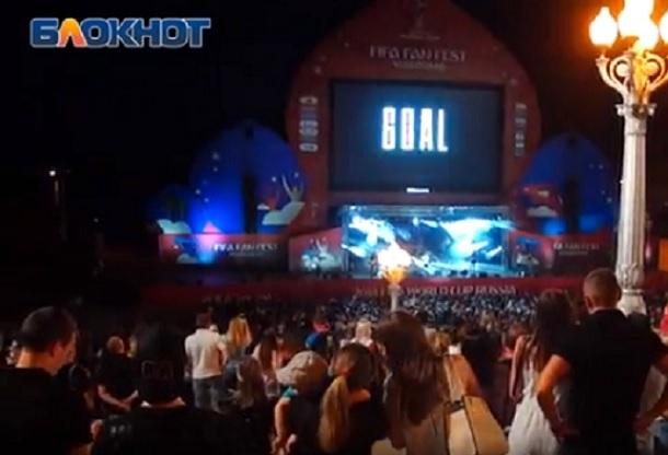На фестивале болельщиков в Волгограде Arash впервые представил песню в честь ЧМ-2018