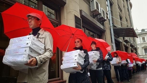Подписи волгоградцев за отмену пенсионной реформы переданы в Москву