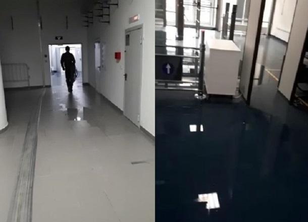 Затопленный стадион «Волгоград Арена» после очередного ливня сняли на видео