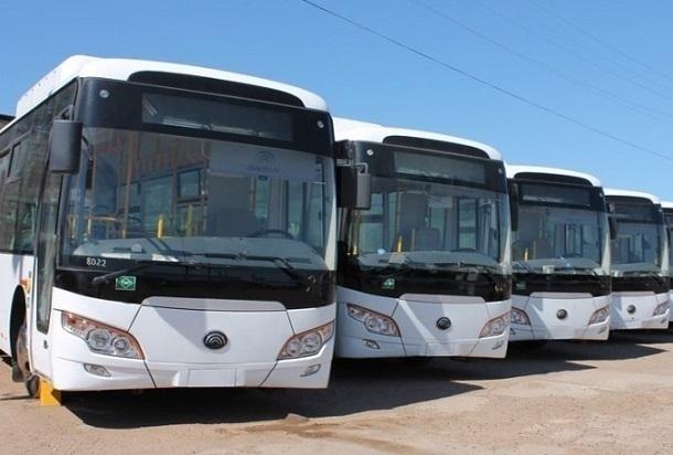 30 новых автобусов прибыли в Волгоград для спасения горожан