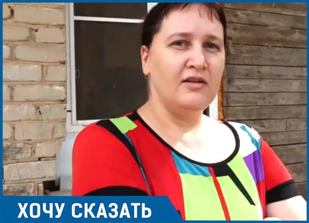 Мы не спим по ночам из страха взорваться, - жительница разваливающегося дома в Волгограде
