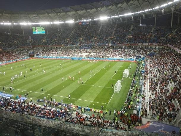 «Волгоград Арена» вошла в пятерку самых посещаемых стадионов России