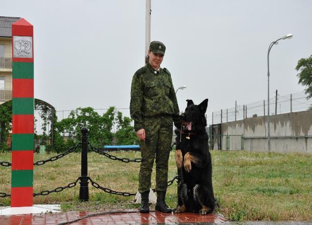 Волгоградские пограничники празднуют 100-летие ведомства