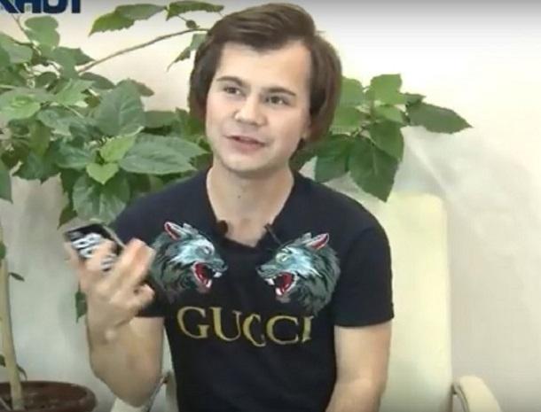 Блоггер Егор Воробьев спел песню Бузовой в прямом эфире «Блокнота Волгограда»