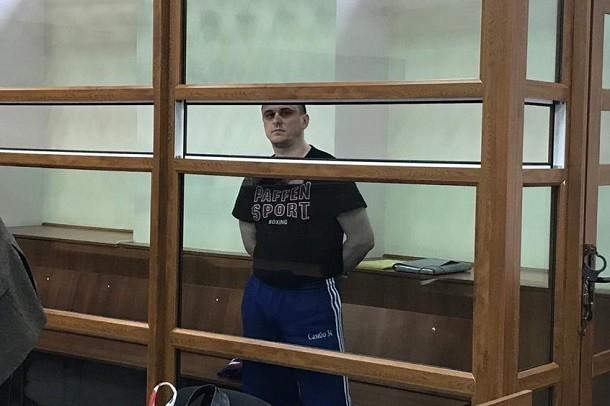 Обвиняемому в убийстве Брудного Александру Геберту продлили арест