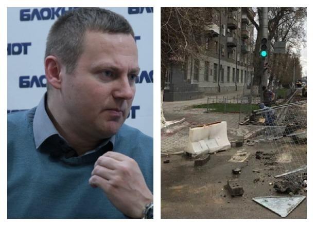 Роман Гребенников сфотографировал позорище у администрации Волгограда