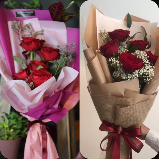 Вялые веники доставили на детский выпускной в Волгограде из модной цветочной студии