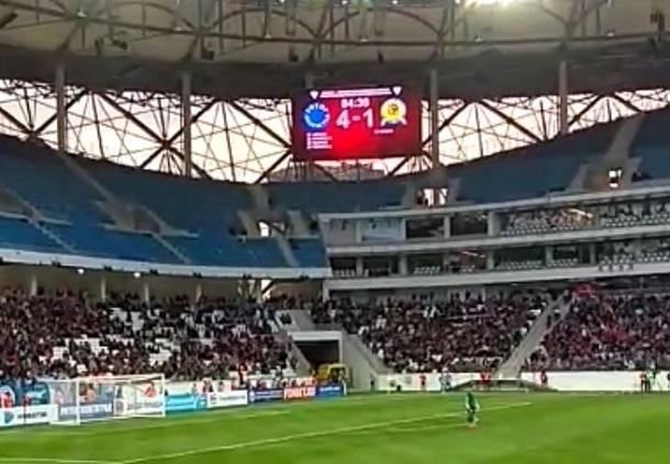 Тестовый матч на«Волгоград Арене» обслуживают 375 волонтеров