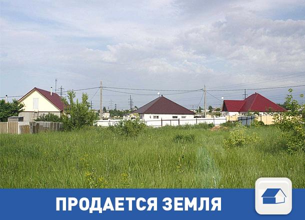 Продается недорогой участок земли с коммуникациями