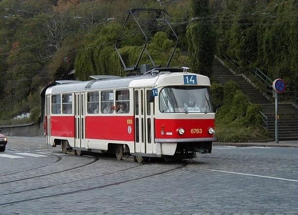 В Волгоградском трамвае произошел пожар в час пик