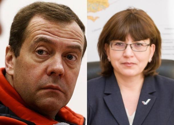Лидер волгоградских профсоюзов украла у Дмитрия Медведева текст поздравления с Днем народного единства