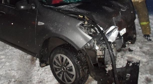 Шофёр малолитражки умер после столкновения с джипом
