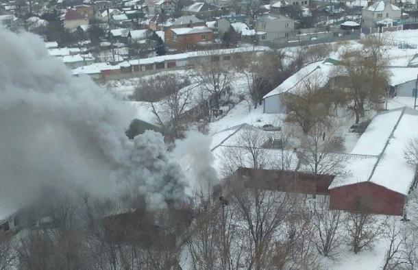ВВолгограде из-за пожара вжилом доме эвакуировали 40 человек
