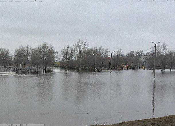 Вода покидает затопленные районы Волгоградской области