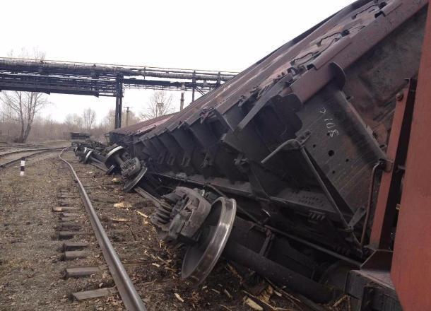 42 вагона сошли с рельсов в Михайловке: возбуждено уголовное дело