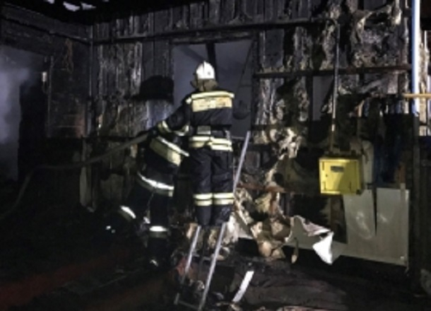 Мужчина с 4-летней внучкой заживо сгорели в частном доме под Волгоградом