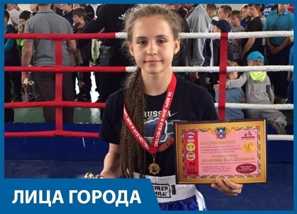 Конор Макгрегор мне нравится как боец и шоумен,- 13-летняя чемпионка Дагестана по кикбоксингу из Волгограда