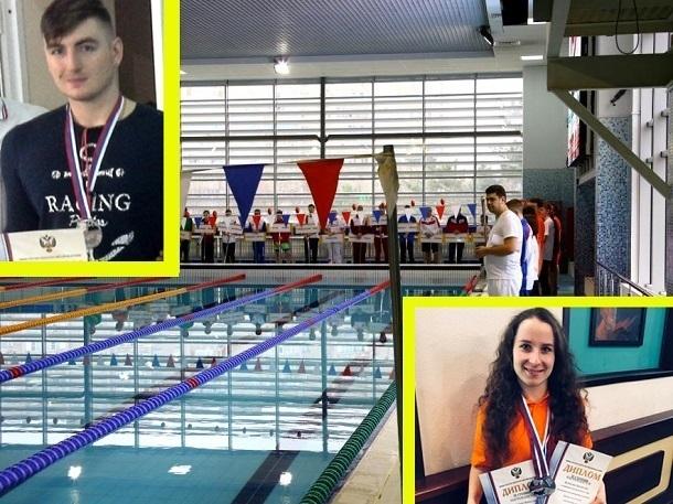 Пловцы из Волгограда привезли шесть медалей с чемпионата России