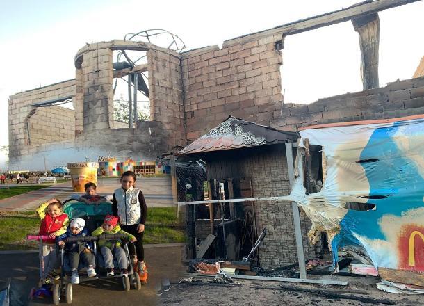 Отец чудом спас пятерых детей и супругу из страшного пожара в Волжском