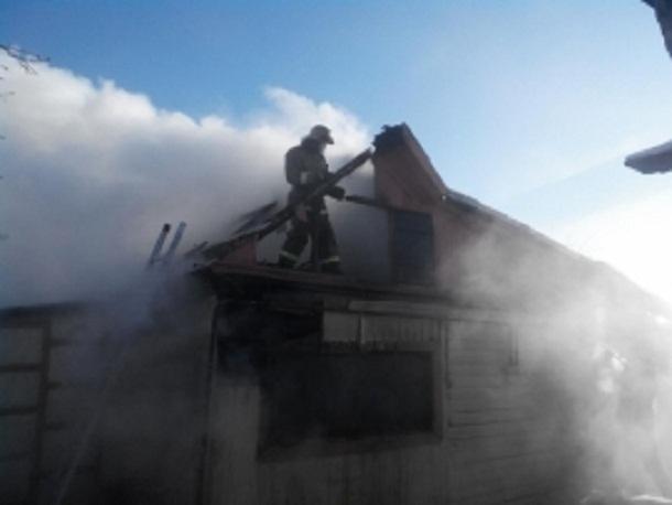 ВВолгоградской области впожаре умер мужчина