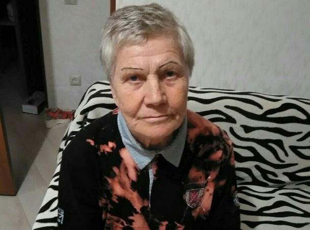 В Волгограде разыскивают 76-летнюю пенсионерку с потерей памяти