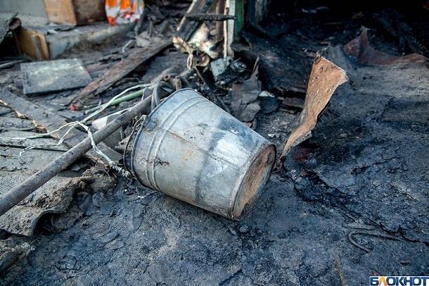 Обгоревшее тело мужчины нашли в частном доме под Волгоградом