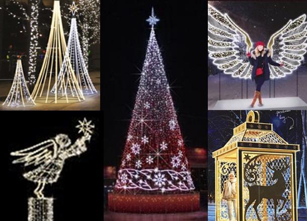 Городок светодиодных арт-объектов появится на площади Павших борцов к Новому году