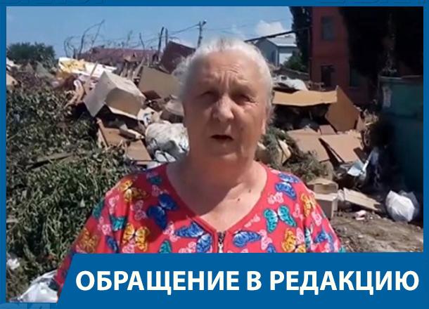 Мы живем как на пороховой бочке, - жительница поселка Вишневая балка в Волгограде