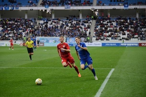 Волгоградский «Ротор» заставил кричать 22 тысячи болельщиков во втором тайме