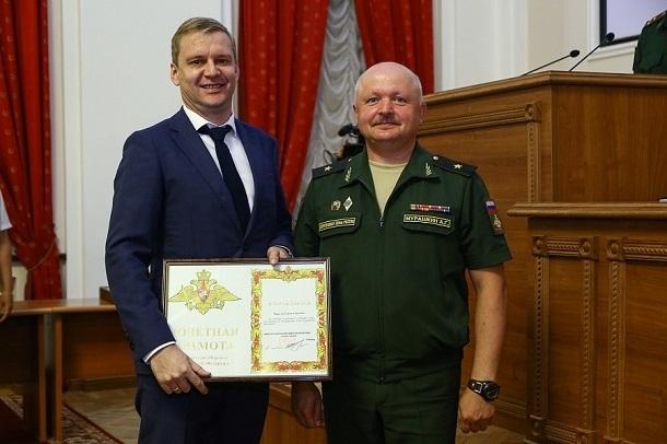 Волгоградские военкоматы получили грамоты за самый большой призыв среди ЮФО