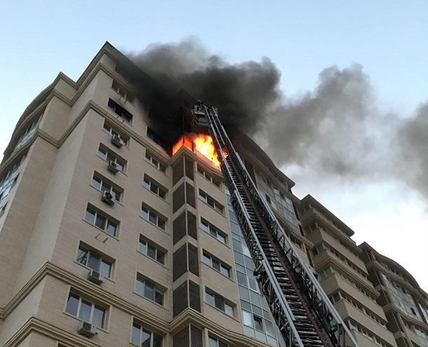 Мужчина погиб при пожаре в волгоградской высотке