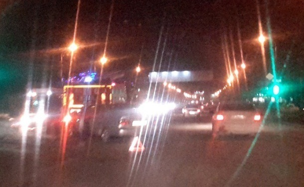 В Волгограде два упрямых водителя стали виновниками аварии