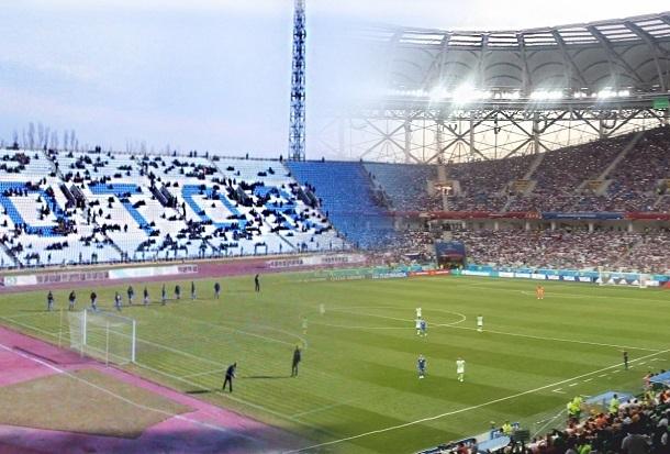 «Тогда и сейчас»: рядом с Мамаевым курганом был центральный стадион...