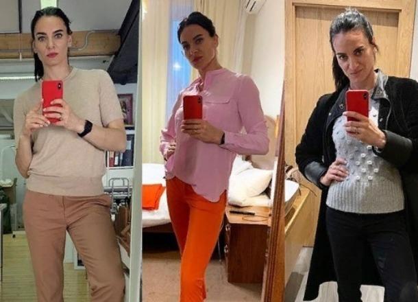 Поклонники посоветовали Елене Исинбаевой снять носки