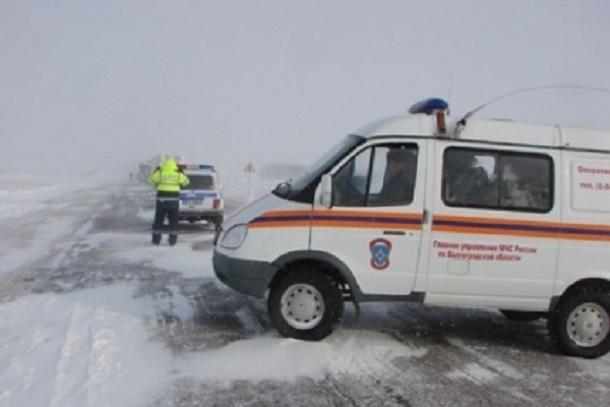 Волгоградских водителей предупреждают об опасности выезда на трассы