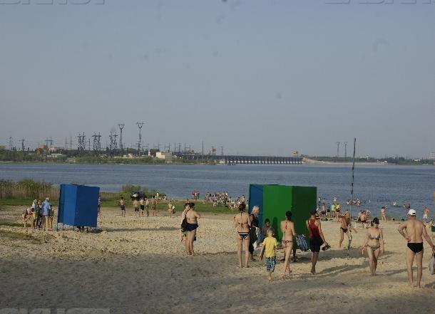 Открытие пляжа на ЦПКиО отложили из-за паводка