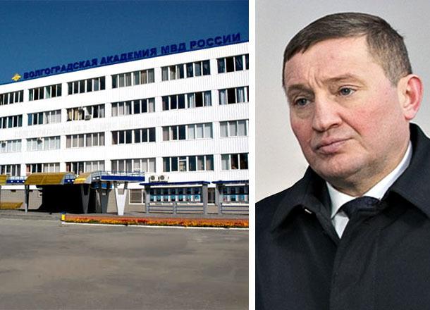 Сын волгоградского губернатора бросил академию МВД