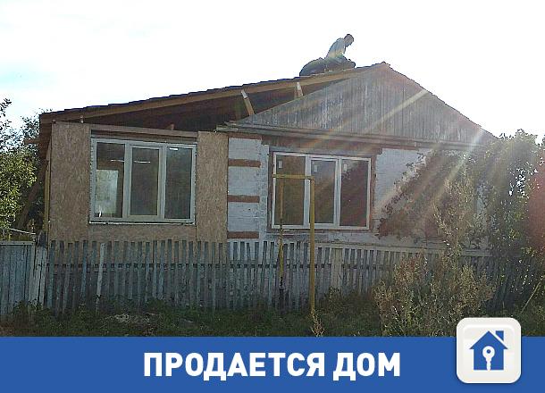Продается дом в красивом месте около ерика