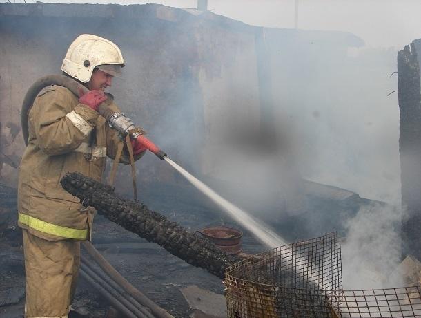 Впожаре под Волгоградом погибли 27-летний мужчина и3-летняя девочка