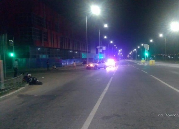 Ещё одного мотоциклиста сбили на Нулевой Продольной в Волгограде